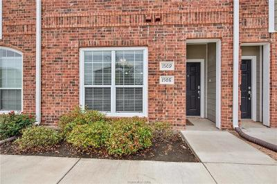 College Station Condo/Townhouse For Sale: 1198 Jones Butler Road #1508