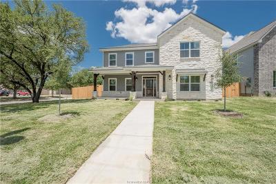 College Station Single Family Home For Sale: 401 Edward Street