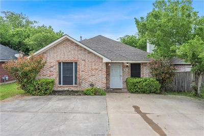 College Station TX Single Family Home For Sale: $199,900