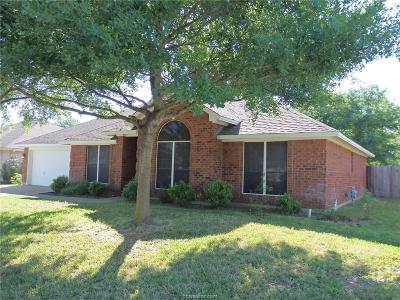 College Station Single Family Home For Sale: 706 Aster Drive