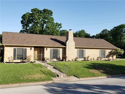 Bryan Single Family Home Contingency Contract: 2906 Braeburn