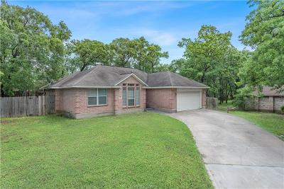 Bryan Single Family Home For Sale: 1007 Wedgewood Circle