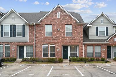 College Station TX Condo/Townhouse For Sale: $174,500