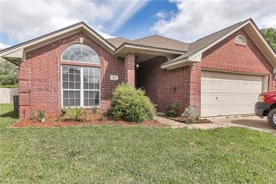 Brazos County Single Family Home For Sale: 1803 Song Sparrow Lane