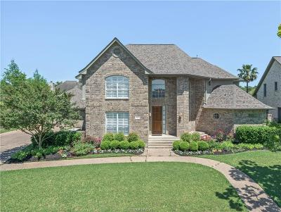 Bryan Single Family Home Contingency Contract: 4613 Locksford Drive