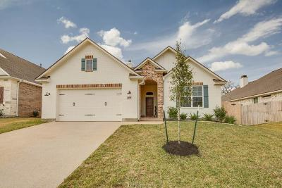 College Station Single Family Home For Sale: 4012 Brownway Drive