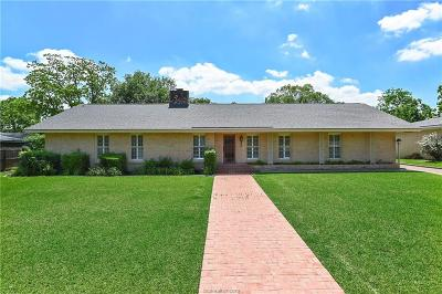 Bryan Single Family Home For Sale: 109 Greenway Drive