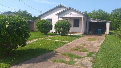 Navasota Single Family Home For Sale: 507 Duke