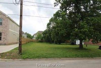 College Station Residential Lots & Land For Sale: 402 Thompson Street