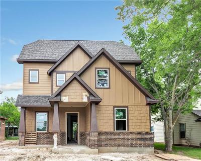 College Station Single Family Home For Sale: 607 Banks Street