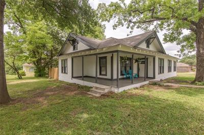 Franklin Single Family Home For Sale: 613 Bremond Street
