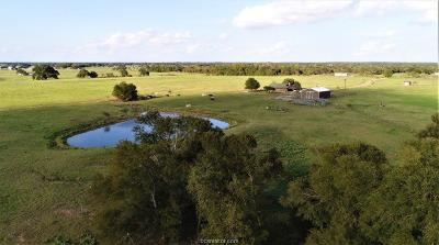 Robertson County Single Family Home For Sale: 11867 Fm 2159 (+/- 100 Acres)