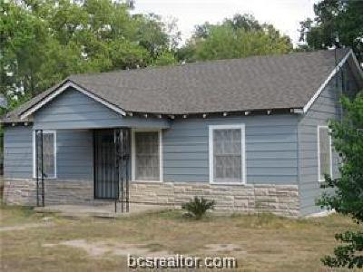 Bryan , College Station Single Family Home For Sale: 2001 Woodville Road