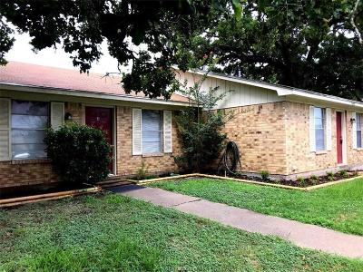 Bryan , College Station Multi Family Home For Sale: 3505 Forestwood Drive #B