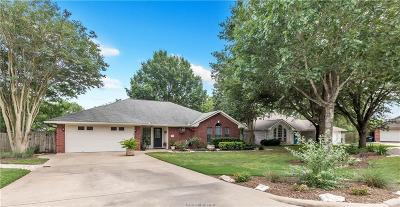 College Station Single Family Home For Sale: 1412 Pecan Grove Court