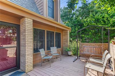 Brazos County Condo/Townhouse For Sale: 3122 Camelot Drive #34