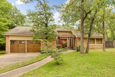 Bryan Single Family Home For Sale: 3101 Hummingbird Circle