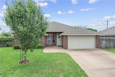 College Station Single Family Home For Sale: 3704 Dove Hollow Lane