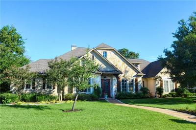 College Station Single Family Home For Sale: 1017 Lyceum