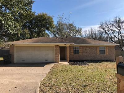 Bryan Single Family Home For Sale: 2615 Westwood Main Drive
