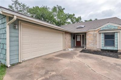 Brazos County Single Family Home For Sale: 8703 Driftwood Drive