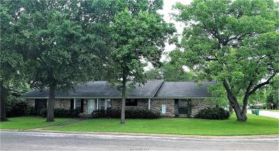 Hearne Single Family Home For Sale: 502 Anderson Street