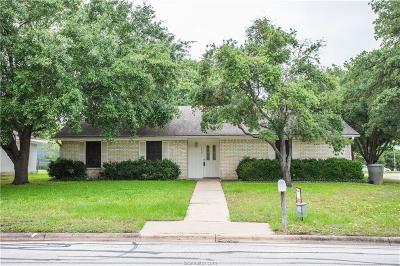 Bryan Single Family Home For Sale: 1619 Luza Street