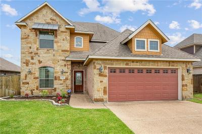 College Station Single Family Home For Sale: 4113 Cripple Creek Court