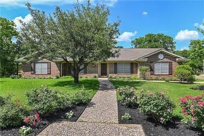 College Station Single Family Home For Sale: 1809 Lawyer Place