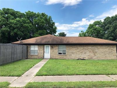 Single Family Home For Sale: 3108 Bluestem Drive