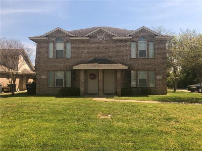 College Station Multi Family Home For Sale: 2344-46 Autumn Chase