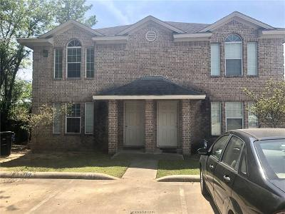 College Station Multi Family Home For Sale: 2340-42 Autumn Chase