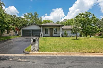 College Station Single Family Home For Sale: 707 Lee Avenue