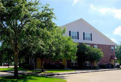 College Station Condo/Townhouse For Sale: 801 Luther Street #1302