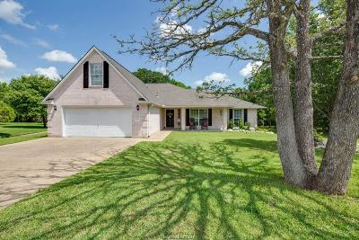 Bryan Single Family Home Contingency Contract: 6101 Bassett Court