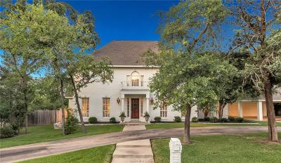 College Station Single Family Home For Sale: 1000 Sonoma