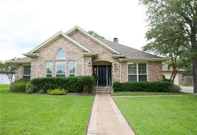 College Station Single Family Home For Sale: 9104 Waterford Drive