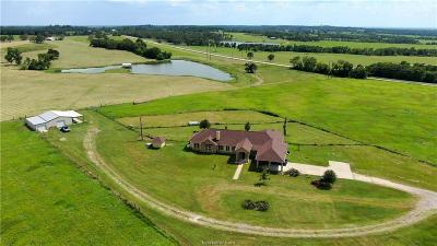 College Station, Bryan, Iola, Caldwell, Navasota, Franklin, Madisonville, North Zulch, Hearne Residential Lots & Land For Sale: 6185 County Road 405
