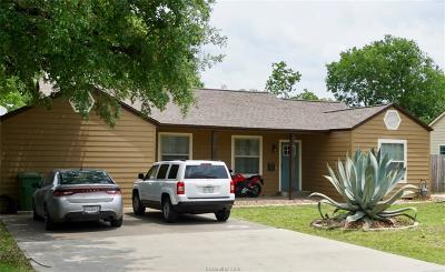 Bryan Multi Family Home For Sale: 1605 And 1609 South College Avenue