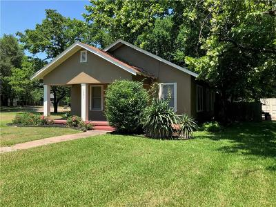 Bryan , College Station Single Family Home For Sale: 1501 South College
