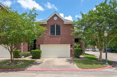 College Station Condo/Townhouse For Sale: 1615 Ethic Lane