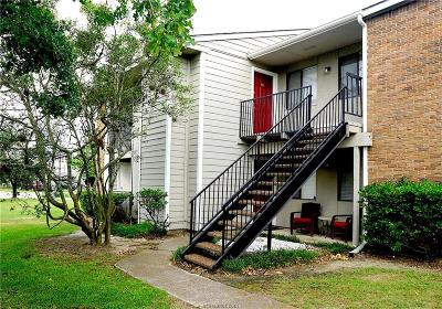 Brazos County Condo/Townhouse For Sale: 1901 Holleman #106