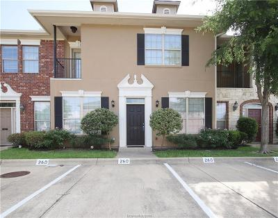 College Station TX Condo/Townhouse For Sale: $185,000
