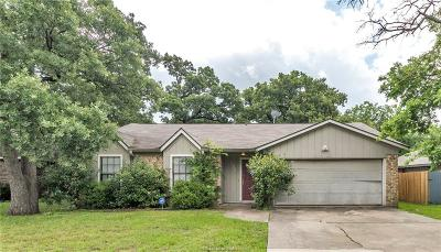 College Station Single Family Home For Sale: 1306 Hardwood Lane