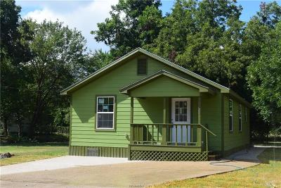 Brazos County Single Family Home For Sale: 1409 East 25th Street