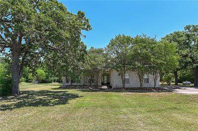 Brazos County Single Family Home For Sale: 3066 Old Reliance Road