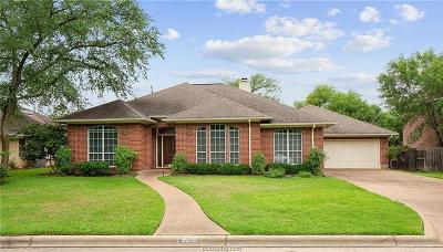 Brazos County Single Family Home For Sale: 9210 Riverstone Court