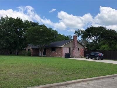 Brazos County Single Family Home For Sale: 1100 Dominik Drive
