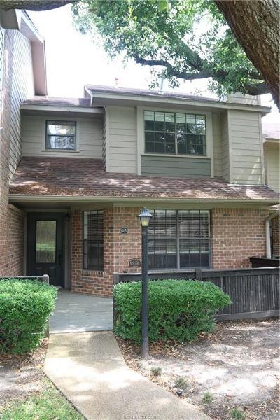 Condo/Townhouse For Sale: 2400 Longmire Drive #605