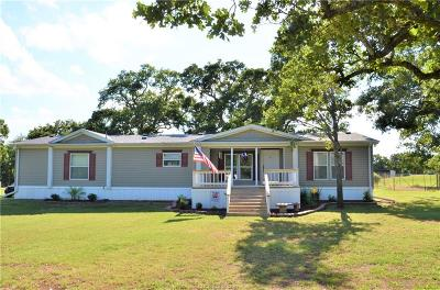 Burleson County Single Family Home For Sale: 546 Lazy Bar S Road